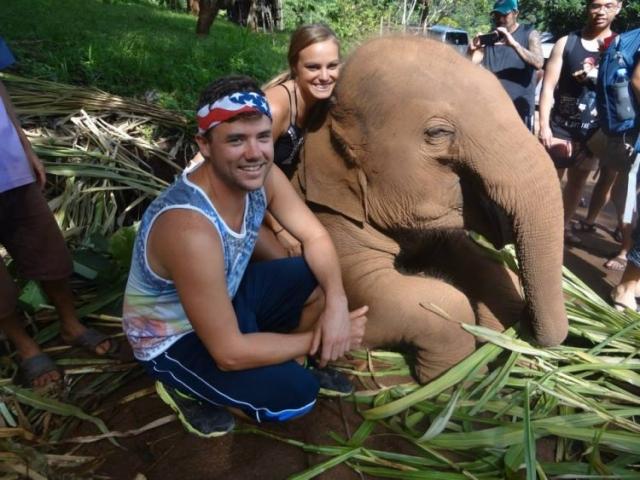 Elephant Kisses- Falling in Love at Patara Elephant Farm